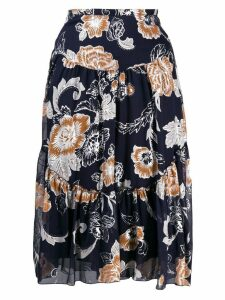 See By Chloé floral print skirt - Blue