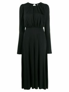 Rotate open back dress - Black