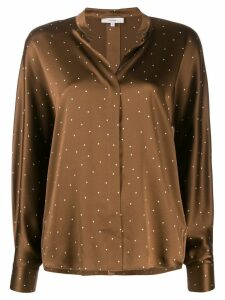 Vince polka-dot blouse - Brown