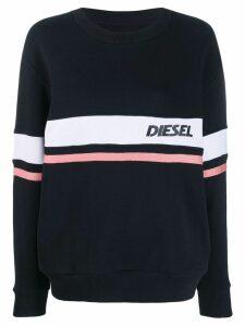 Diesel logo sweatshirt - Black