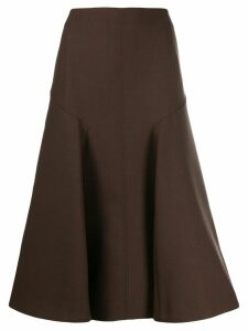 Joseph A-line midi skirt - Brown