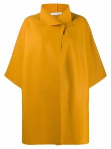 Harris Wharf London shortsleeved coat - Yellow