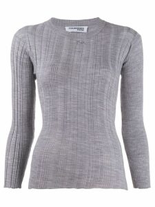 Courrèges ribbed jumper - Grey