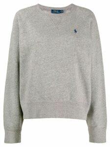 Polo Ralph Lauren embroidered logo sweatshirt - Grey