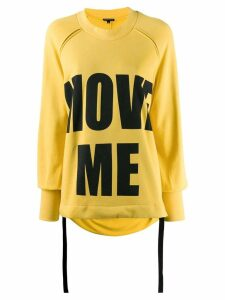 Ann Demeulemeester Move Me jumper - Yellow