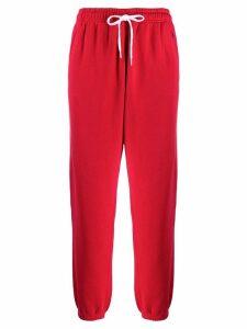 Polo Ralph Lauren drawstring waist trousers - Red