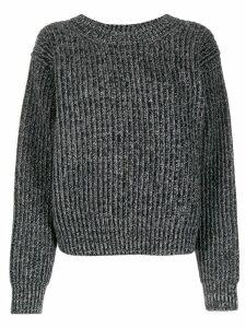 Acne Studios ribbed jumper - Grey