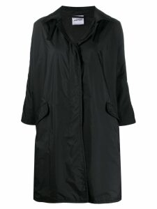 Aspesi relaxed fit raincoat - Black