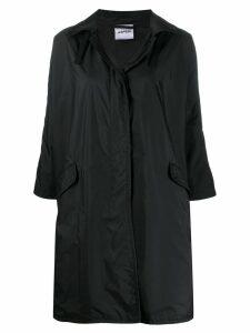 Aspesi relaxed fit raincoat - Black
