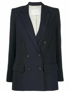 Tela double-breasted blazer - Blue