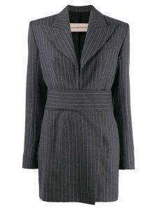 Alexandre Vauthier pinstripe blazer dress - Grey