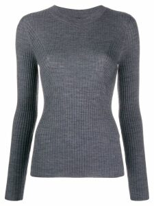 Joseph ribbed crewneck jumper - Grey