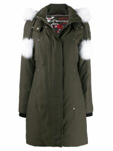 Moose Knuckles Stirling parka coat - Green