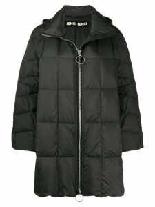 Ienki Ienki zipped padded coat - Black