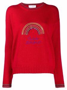 Giada Benincasa Ciao Amore jumper - Red