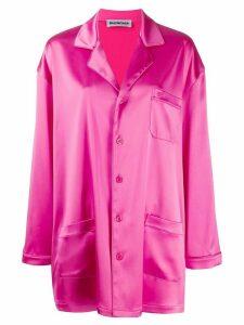 Balenciaga Pajama Pocket shirt - Pink
