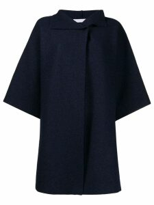 Harris Wharf London oversized wide sleeve coat - Blue