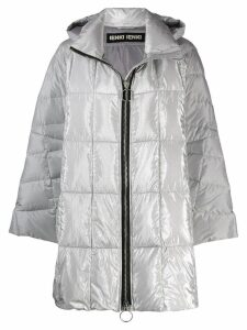 Ienki Ienki hooded padded coat - Silver