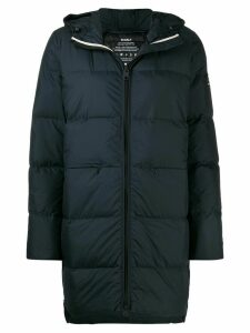 Ecoalf zipped padded coat - Blue