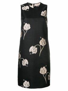Rochas floral print dress - Black