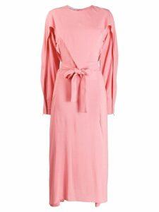 Stella McCartney layered midi dress - Pink
