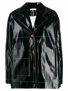 Rejina Pyo oversized single breasted jacket - Black