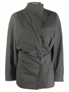 Acne Studios twisted shirt - Grey