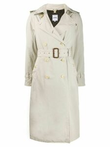 Aspesi relaxed fit trench - Neutrals