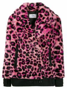 Alberta Ferretti leopard print jacket - Pink