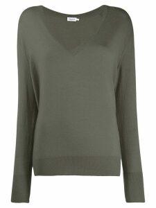 Filippa-K fine knit V-neck jumper - Grey