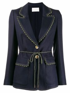 Peter Pilotto rope seam blazer - Blue
