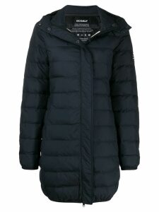 Ecoalf hooded padded coat - Blue