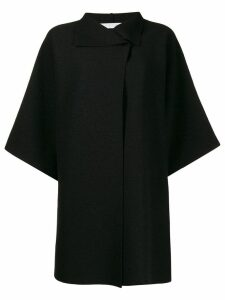 Harris Wharf London wide sleeve oversized coat - Black