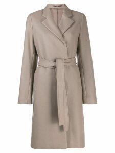 Filippa-K Eden belted coat - Neutrals