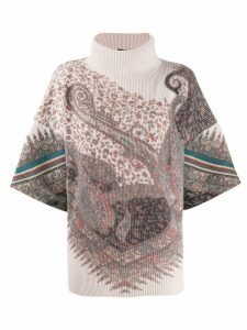 Etro paisley roll-neck sweater - Neutrals