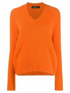 Aragona v-neck jumper - Orange