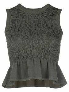 Nicole Miller fishtail blouse - Green