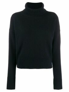 P.A.R.O.S.H. roll neck jumper - Blue