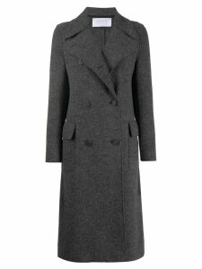 Harris Wharf London double-breasted trenchcoat - Grey