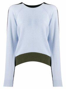 Dorothee Schumacher colour block jumper - Blue