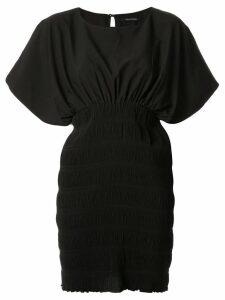Wynn Hamlyn Wave Mini Dress - Black