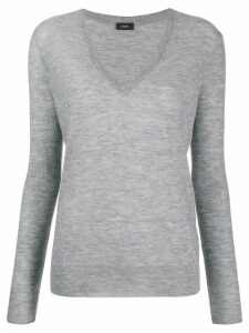 Joseph cashmere fitted jumper - Grey