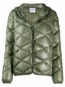 Aspesi hooded padded jacket - Green