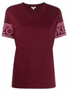 Kenzo logo sleeve T-shirt - Red