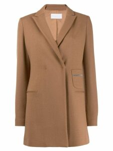 Fabiana Filippi classic fitted blazer - Brown