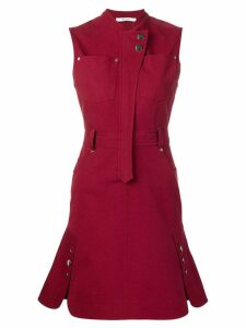 Derek Lam 10 Crosby sleeveless utility dress - Red