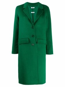 P.A.R.O.S.H. single-breasted fitted coat - Green