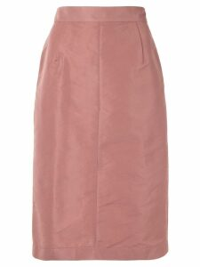Nº21 high-waisted pencil skirt - Pink
