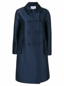 Dice Kayek double breasted coat - Blue