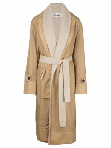Loewe double-layer coat - Brown